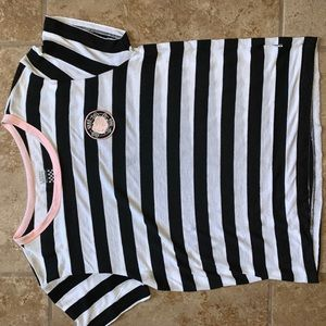 van stripe shirt